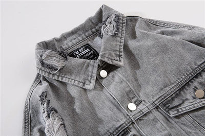 Damsel in Distress Denim Jacket - Vincere