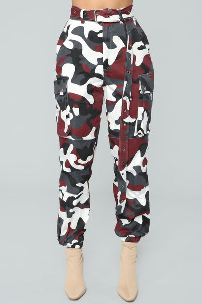 Casual Camo Women's Sweatpants - Vincere