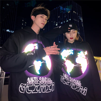 Earth Reflective Sweatshirts