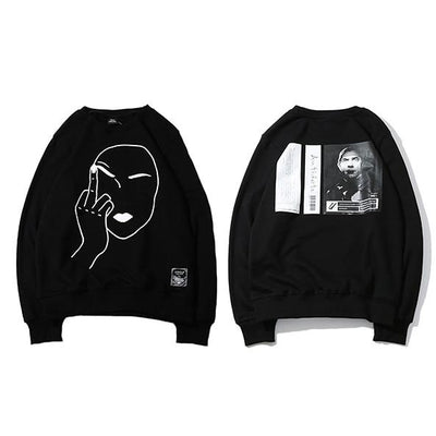 F* Off Sweatshirt - Vincere