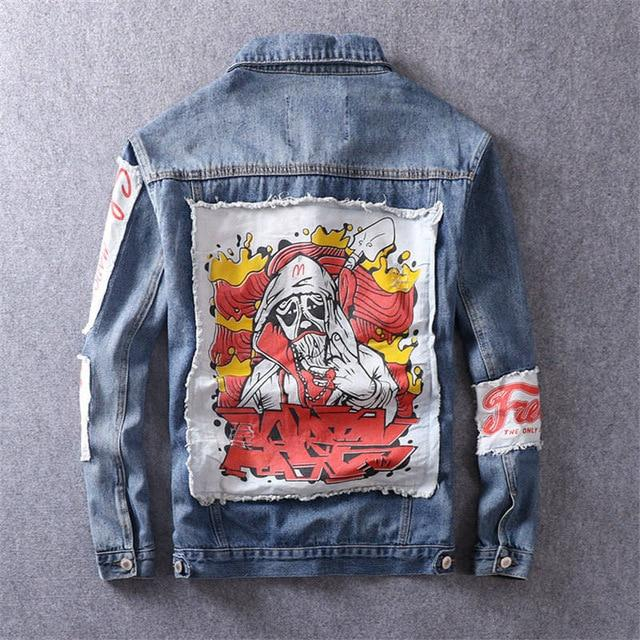 Shabishi Denim Jacket