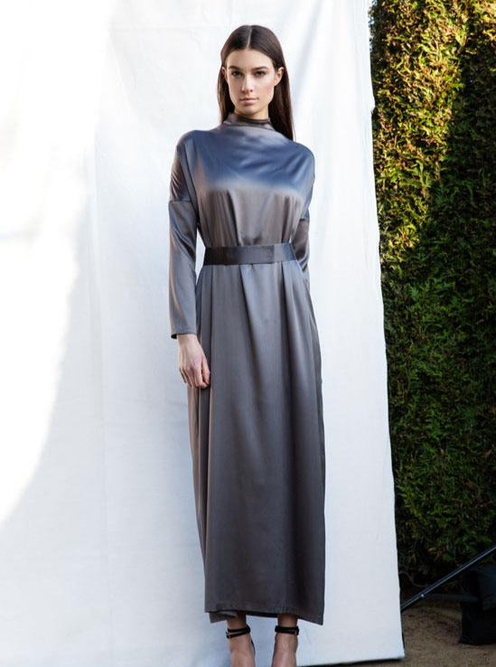 Dress ANIMI metallic