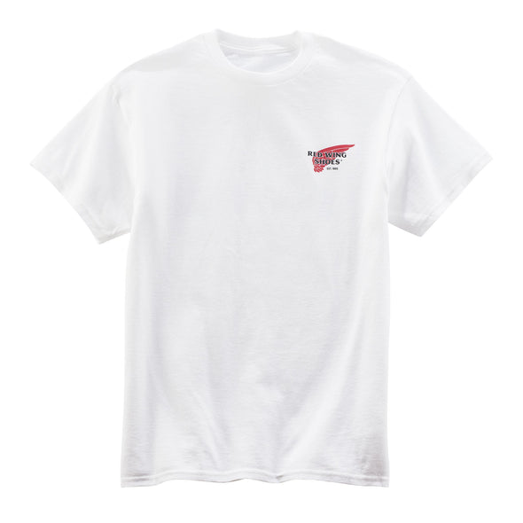 95080 White Archive Logo T-Shirt