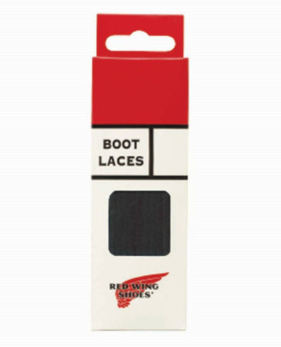 97135 Black Leather Laces 80 Inch-200cm