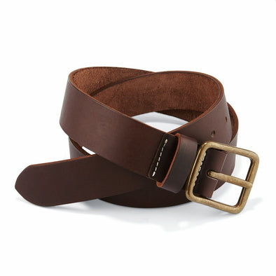96502 Leather Belt Amber