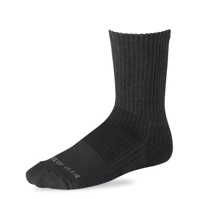 97243 Cotton Cushion Sock Black