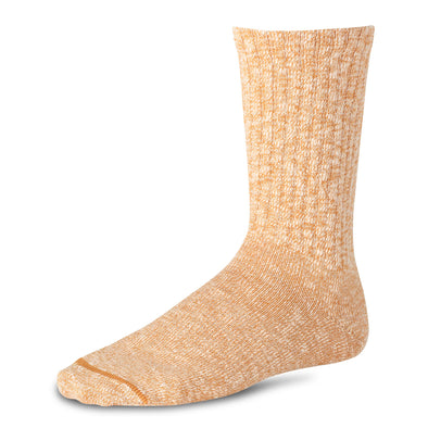 97242 Cotton Ragg Crew Sock Sunset/White