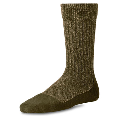 97178 Deep Toe Capped Sock Olive