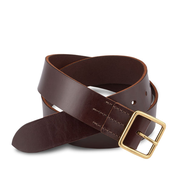 96506 Vegetable-Tanned Leather Belt