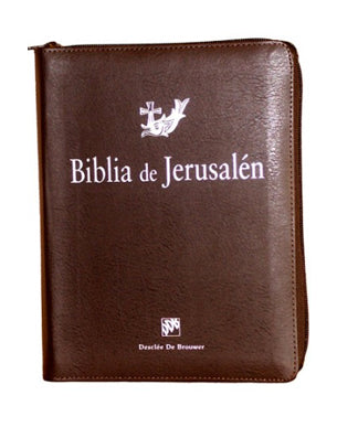 Biblia de Jerusalen Manual con funda cremallera - USA Madrid