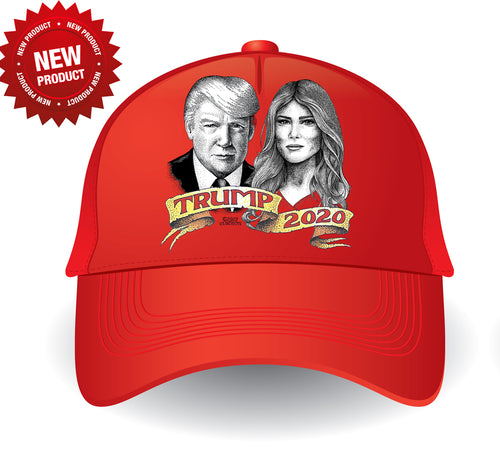 Melania and Donald Hat
