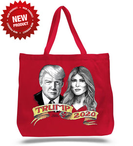 Melania and Donald Tote