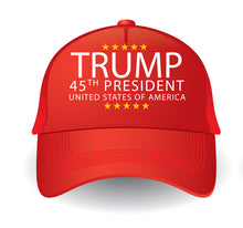 Load image into Gallery viewer, Trump 45 Hat