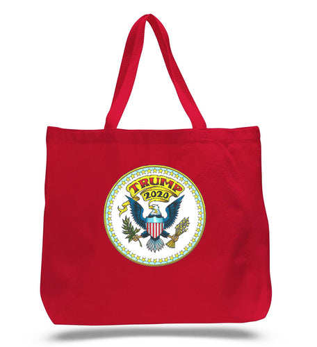 Trump Seal Red Tote