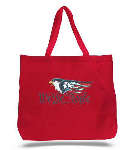 We The People Red Tote