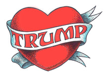 Load image into Gallery viewer, Trump Heart Tote