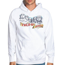 Load image into Gallery viewer, Trump Rushmore White Hoodie
