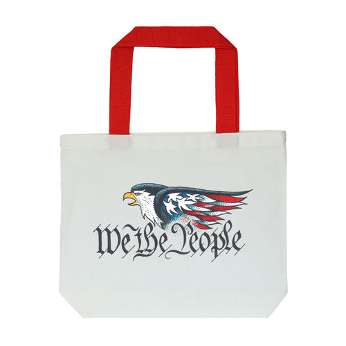 We The People White Tote