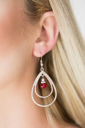 REIGN On My Parade - Red - Earrings