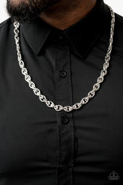 Grit and Gridiron - Silver Unisex Chain