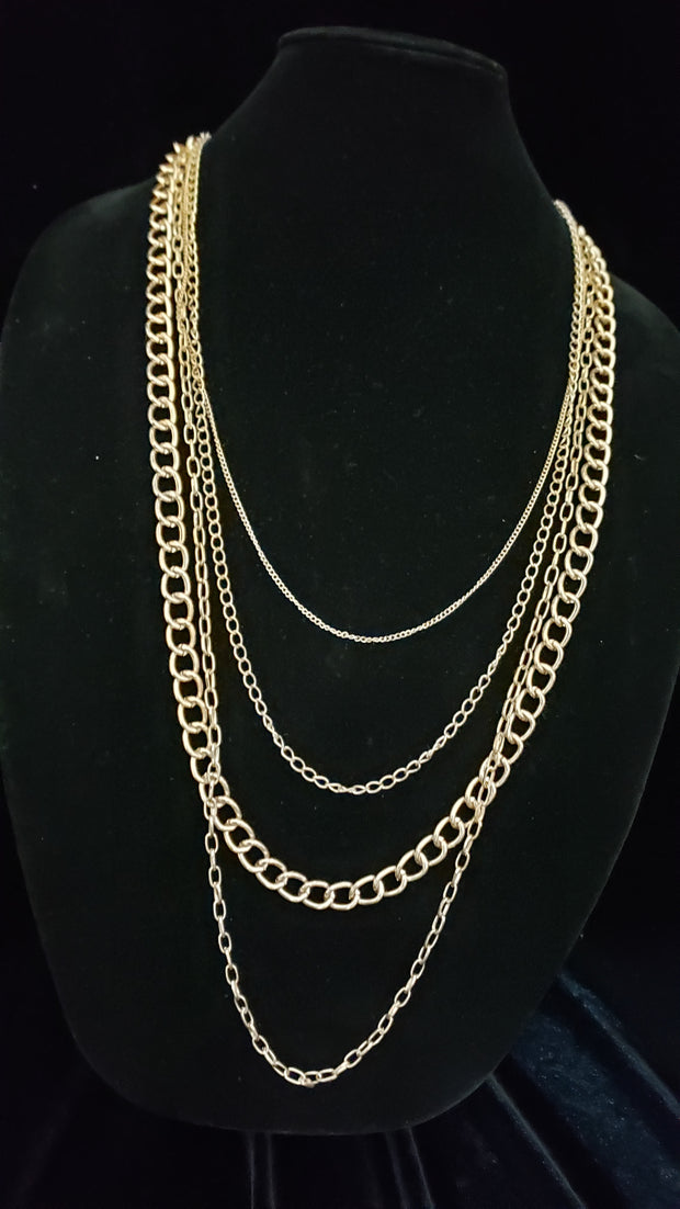 Gold Layered Chains 102