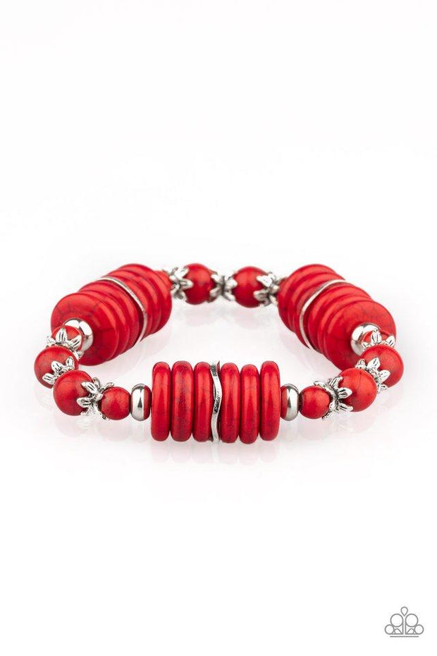 Sagebrush Serenade - Red ♥ Bracelet