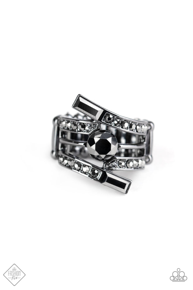 Well Played -Gunmetal Ring