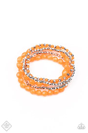 Sugary Sweet Orange Bracelet