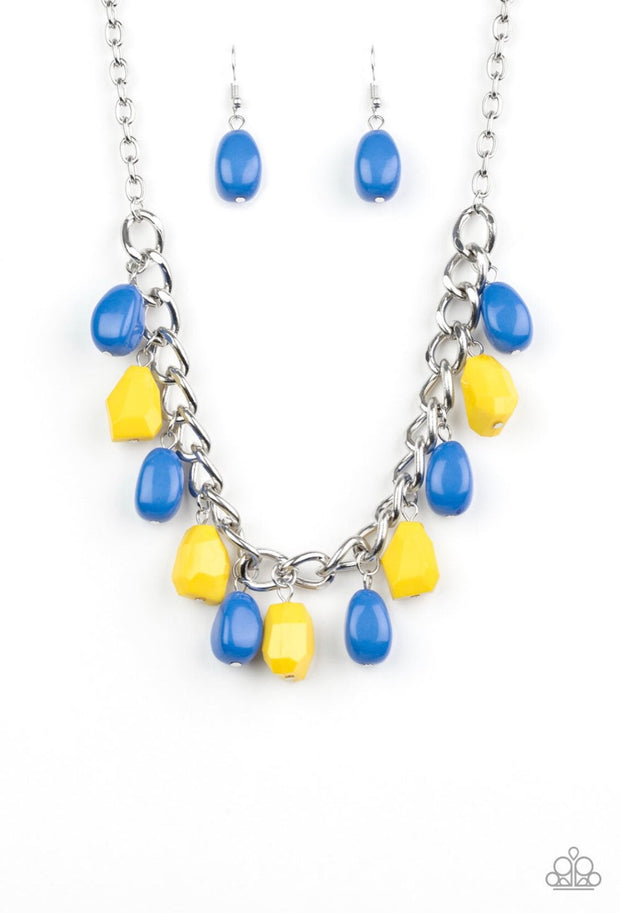 Take The Color Wheel Multi Necklace
