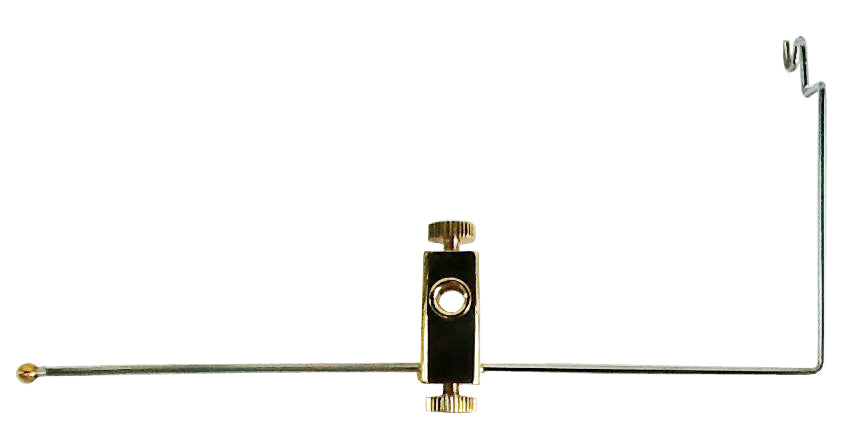 Brass Bobbin Cradle attachment for both Atlas® and Apex Vises®