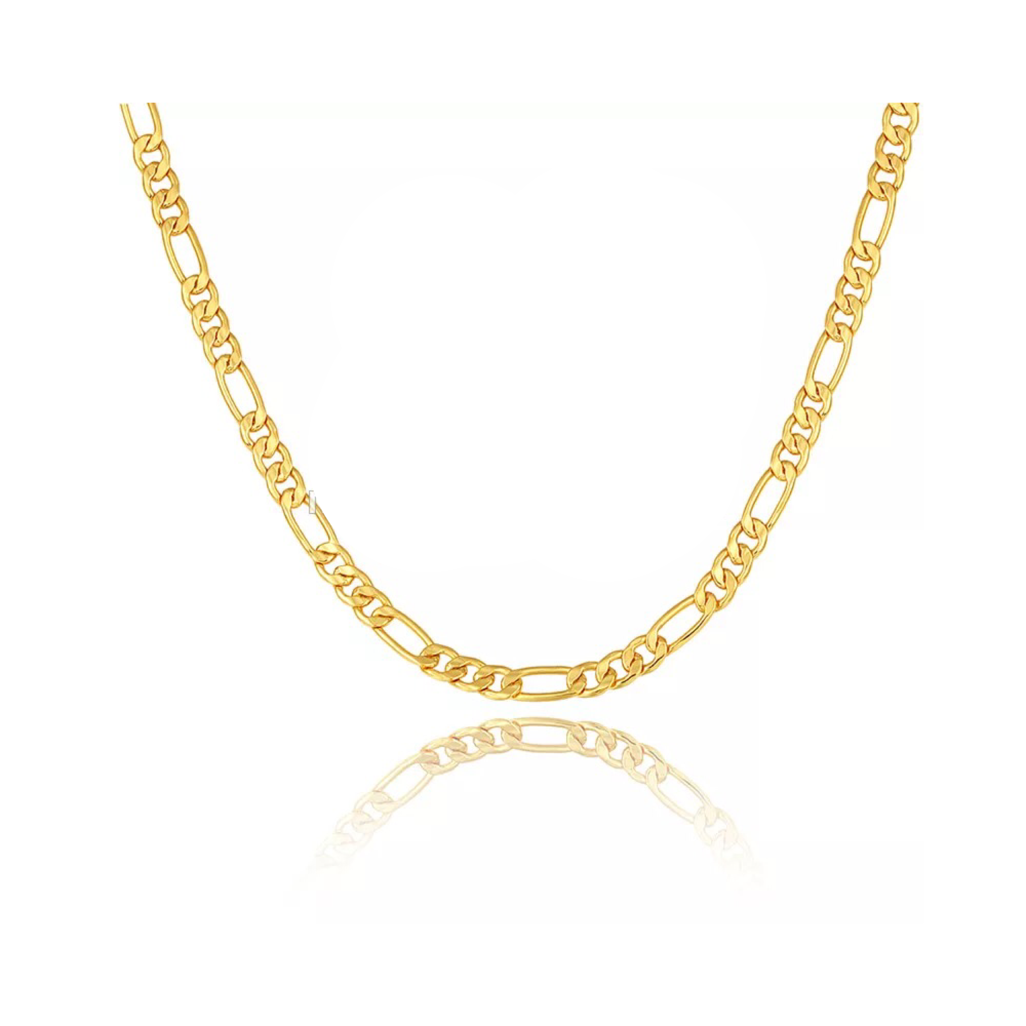 Innysfine Figaro Chain Necklace - Innysthebrand Jewellery