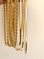 Load image into Gallery viewer, Jessie Flat Chain Necklace - Innysthebrand Jewellery