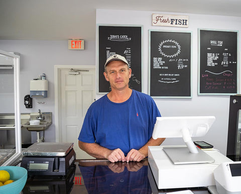 Keith Potts, Owner of Ocean to Fork Seafood