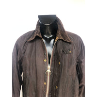 Barbour Giacca Uomo Bedale Marrone C44/112 CM Vintage Brown Wax Jacket Large - Shop in London