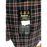 Giacca Barbour Uomo Border blu Vintage Cerata C40/102 cm - Navy blue wax jacket - Shop in London