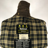 Giacca Barbour Vintage Bedale Verde C36/91 CM Xsmall - Green waxed Barbour jacket C36