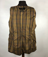 Giacca Barbour Utility Mac Marrone con cintura UK18 -Wax Brown Belted Jacket UK18