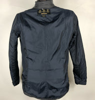 Trapuntino Barbour blu Uk14 - Quilted Navy Jacket UK14