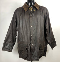Barbour Giacca Beaufort marrone C44/112 cm - Brown waxed Jacket Beaufort 44''