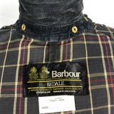 Barbour Giacca Uomo Bedale Blu Vintage C44/112 CM Large Navy blue Waxed Jacket