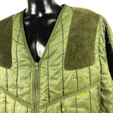 Giacca a vento trapuntata Barbour verde XXL  - Green quilted jacket xxl