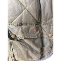 Barbour Giacca Verde Down Wax Jacket XXL - Green Jacket Quilted - Shop in London