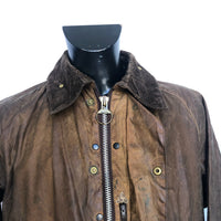 Barbour Beaufort Cerato Uomo Marrone C42/107 cm MEDIUM-Brown Vintage Wax jacket - Shop in London