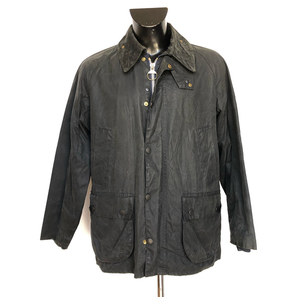 Barbour Giacca Uomo Bedale Blu VIntage C40/102 CM Tg. S Navy blue Waxed Jacket - Shop in London