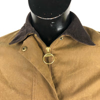 Giacca Barbour marrone Newmarket Short UK10 Small - Brown Waxed short jacket uk10