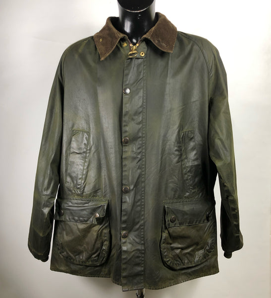 Barbour Giacca Uomo Bedale Verde C50/127 CM Taglia XXL- Green Bedale Waxed jacket