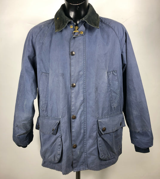 Barbour Giacca Uomo Bedale Blu VIntage C40/102 CM Navy blue Waxed Jacket