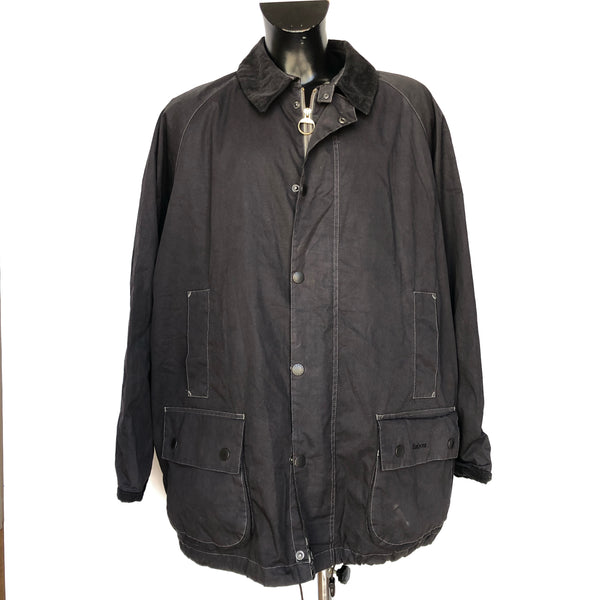 Giacca Barbour Lightweight Beaufort Nero XXL - Black spring Wax jacket - Shop in London