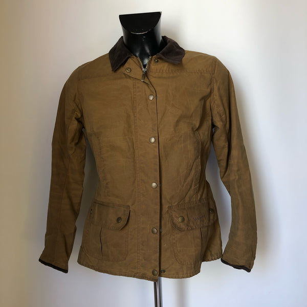 Giacca Barbour Marrone recente Taglia Medium -Wax Brown Jacket UK 12 - Shop in London