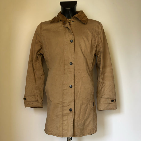 Giacca Barbour Unisex beige modello Lightweight Newmarket Recente UK 14 - Beige Trench Jacket - Shop in London